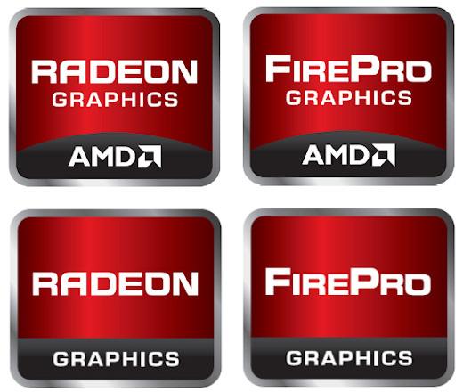 Marcas/selos AMD gráficos - Radeon