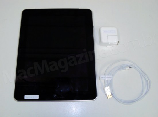 iPad com Wi-Fi e 3G homologado pela Anatel