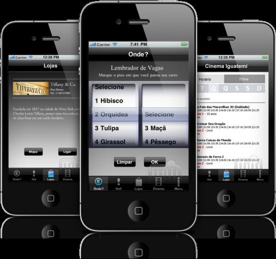 Iguatemi SP em iPhones