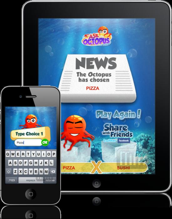 Ask The Octopus no iPhone e no iPad