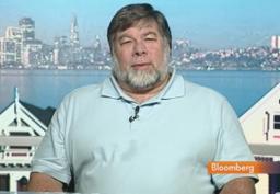 Steve Wozniak em entrevista à Bloomberg