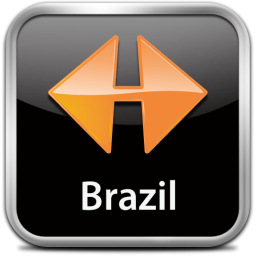 Ícone do NAVIGON MobileNavigator Brazil