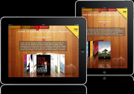Top Livros HD no iPad