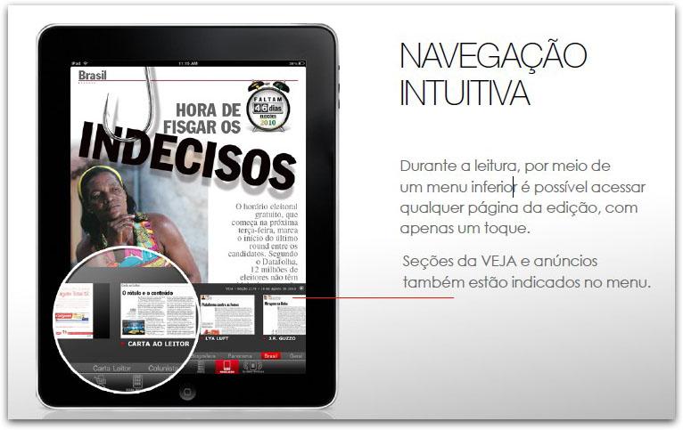 VEJA no iPad