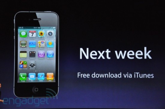 Disponibilidade do iOS 4.1