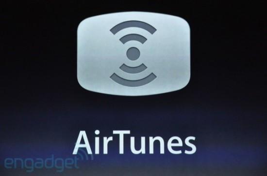 Novidades do iOS 4.2; AirPlay, ou AirTunes