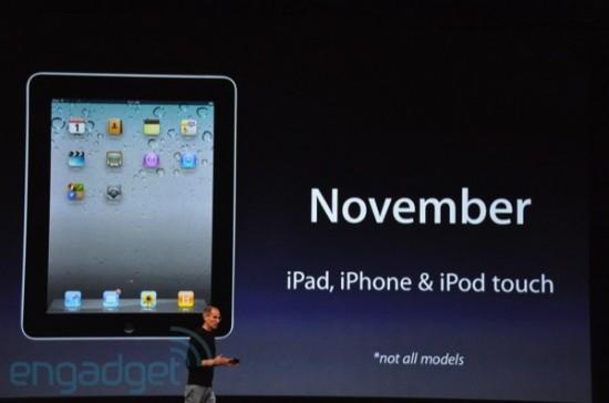 Disponibilidade do iOS 4.2