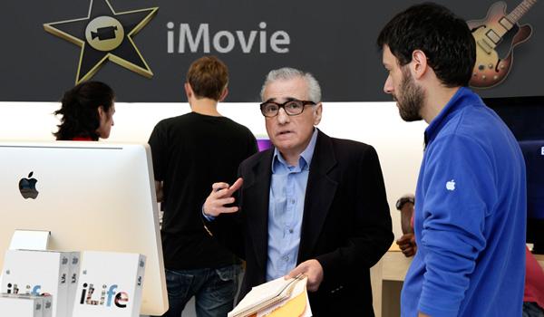Martin Scorsese e iMovie