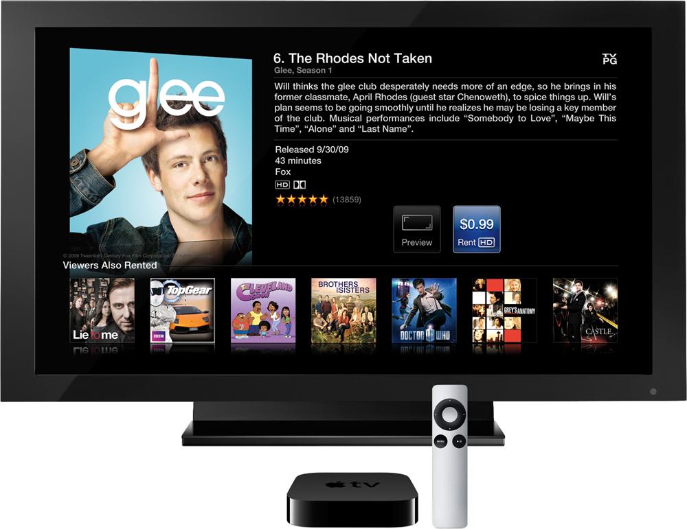 Glee no Apple TV