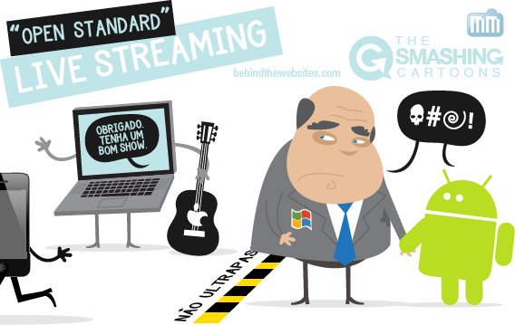 The Smashing Cartoons - Open Standard Live Streaming