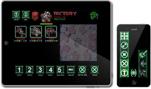 StarCraft II no iPad e no iPhone