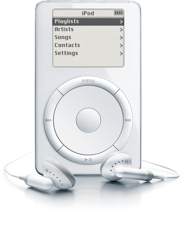 iPod de primeira geração (2001)