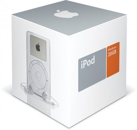 iPod de segunda geração, compatível com Windows (2002)