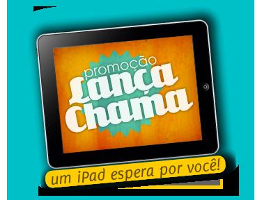 Promoção Lança-Chama - iPad por camisetas