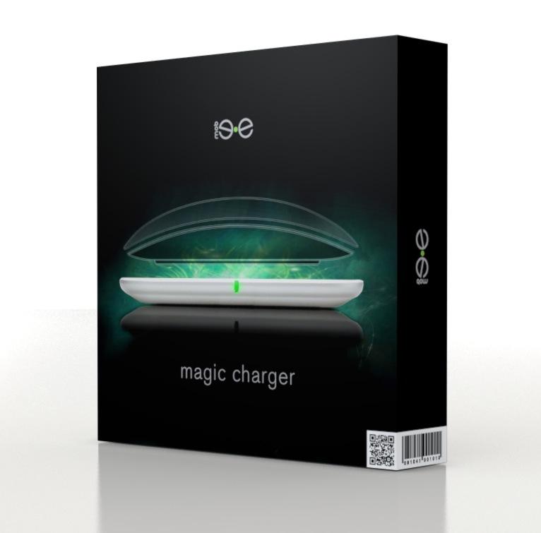 Caixa do Magic Charger, da Mobee