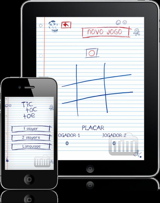 Jogo da Velha no iPad e no iPhone