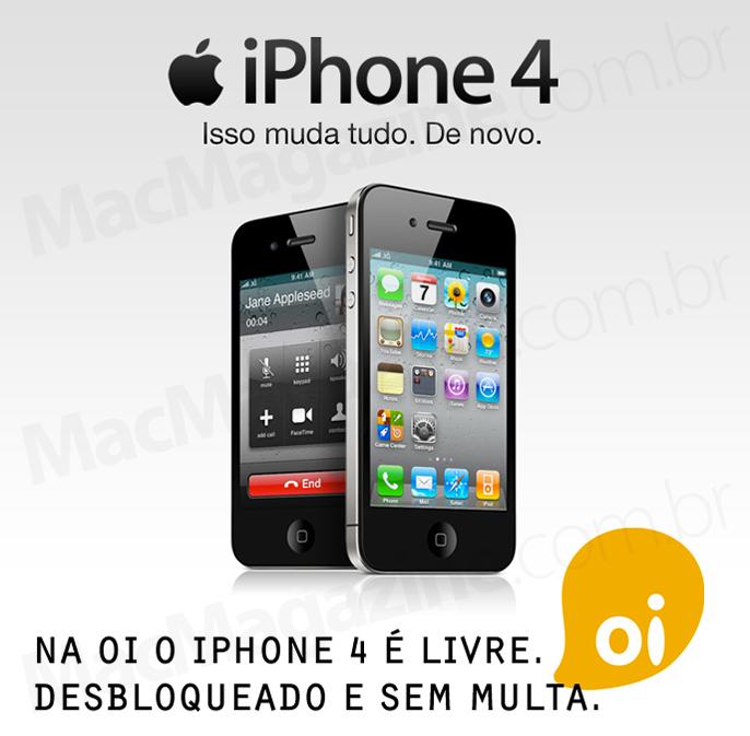 iPhone 4 na Oi
