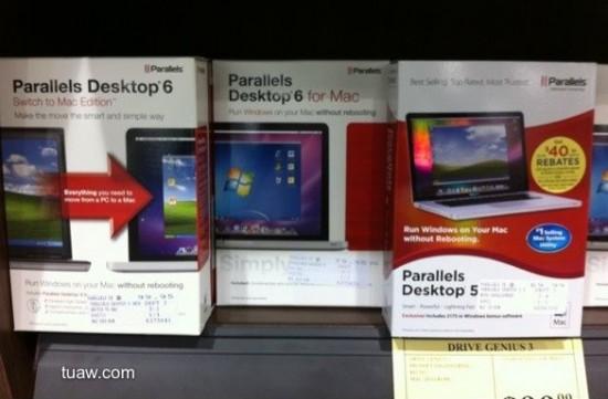 Parallels 6 à venda em loja