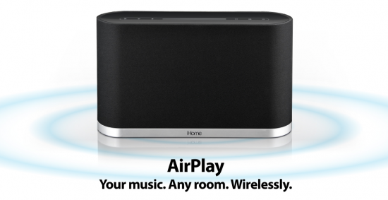 Alto-falante iHome com AirPlay
