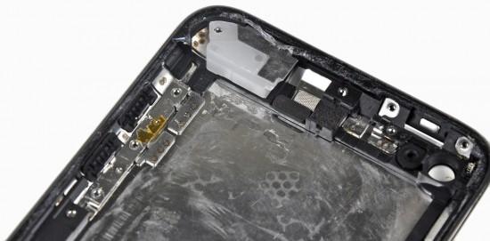 Enchimento no iPod touch 4G; iFixit