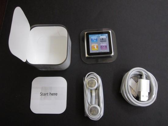 Unboxing do iPod nano 6G; iLounge