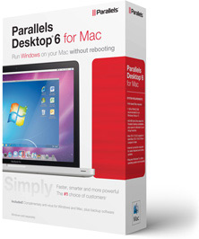 Caixa do Parallels Desktop 6 para Mac