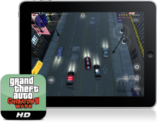 Grand Theft Auto: Chinatown Wars HD no iPad