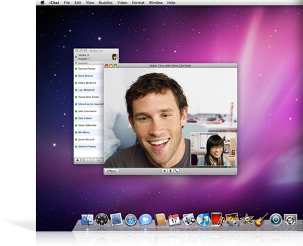 iChat no Mac OS X