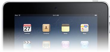iPad com câmera frontal
