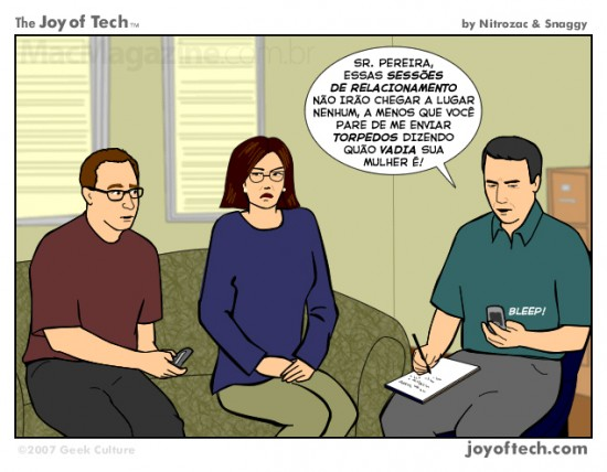 Joy of Tech - Terapia via mensagens de texto