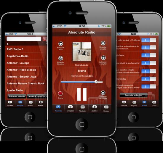 FireRocker em iPhones