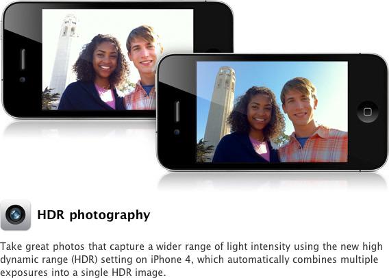 Fotos HDR no iPhone 4
