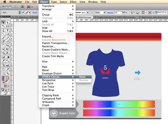 HTML5 no Adobe Illustrator CS5