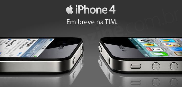 iPhone 4 na TIM