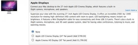 Customizando monitor no Mac Pro