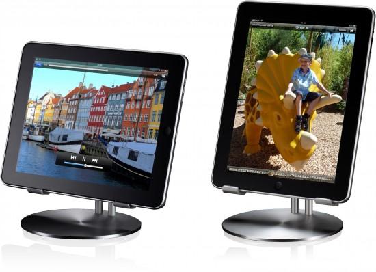 UpStand com iPads na vertical e na horizontal