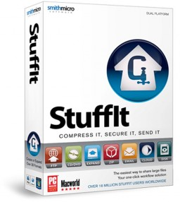 Caixa do StuffIt 2011 para Mac