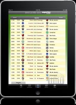 Brasileirão 2010 no iPad