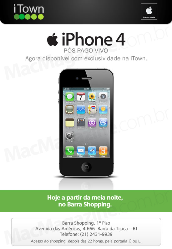 iTown e iPhone 4