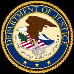 Departamento de Justiça dos Estados Unidos