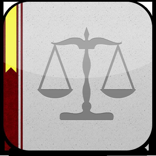 Ícone do Vade Mecum de Direito