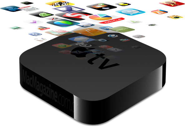 Apple TV com apps