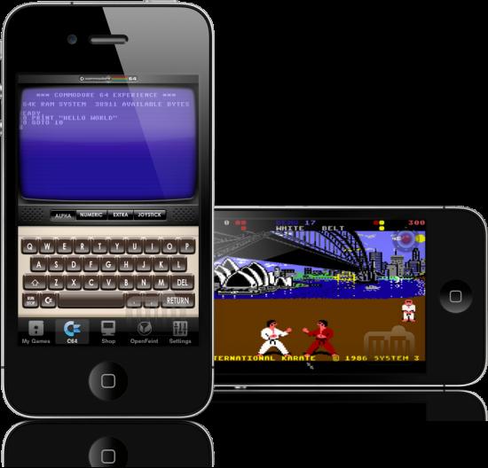 Commodore 64 em iPhones