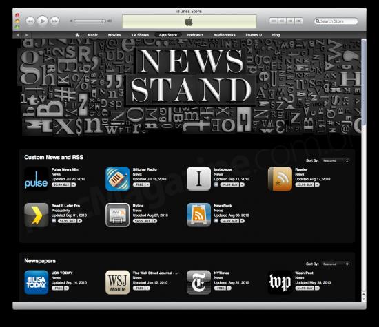 Newsstand na App Store