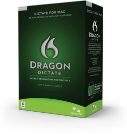 Caixa do Dragon Dictate 2.0 para Mac