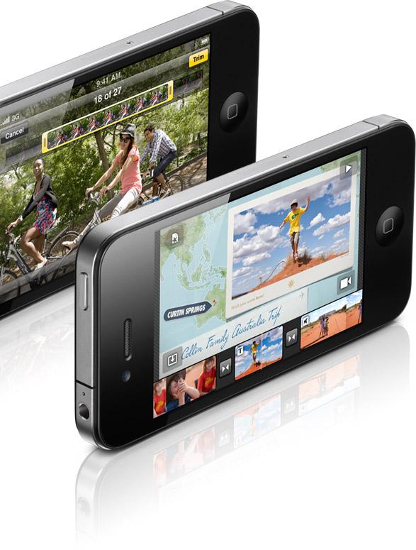 Edição de vídeos no iPhone 4 (iMovie)