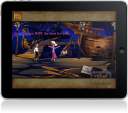 The Secret of Monkey Island: Special Edition no iPad