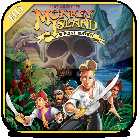 Ícone do The Secret of Monkey Island: Special Edition para iPad