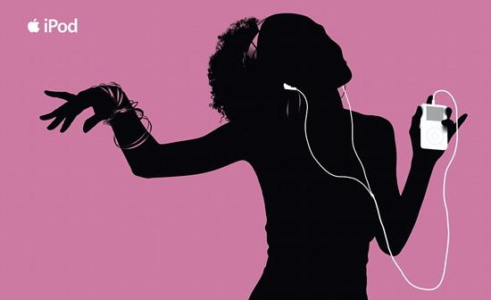 Silhueta e iPod