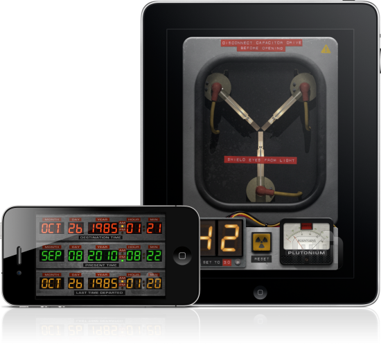 iFlux Capacitor no iPhone e no iPad